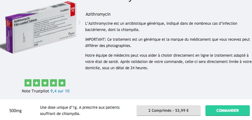 gain de poids de l azithromycine